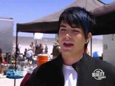 Adam Lambert in American Idol Extra Season 8 - Favorite Movies