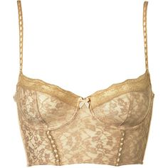 Leafy Lace Bralet ($40) ❤ liked on Polyvore featuring intimates, bras, tops, lingerie, underwear, corset, bras & bralets, collections, underwear as outerwear and lace longline bra