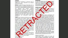 Misdeeds, Not Mistakes, Behind Most Scientific Retractions   WFUV Radio