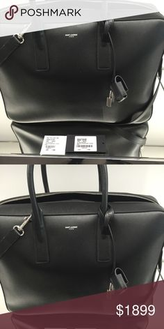 Nwt ysl men briefcase Men's museum briefcase new with tags Yves Saint Laurent Bags Laptop Bags