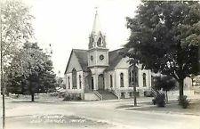 MI, Elk Rapids, Michigan, RPPC, Methodist Episcopal Church, Cook Photo No E421