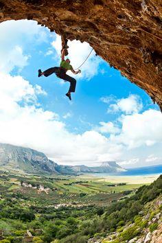 Sport climbing in Sicily