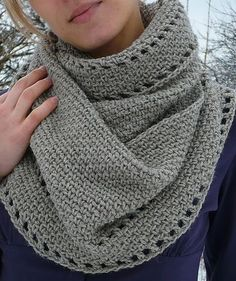 Free Easy Crochet Cowl Patterns | Image detail for -crochet cowl patterns | the ... | Knitting, Crochet ...