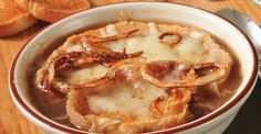 Slow Cooker French Onion Soup - Versatile, serve to guests before a meal, or in a bowl to family!  YUM! www.GetCrocked.com