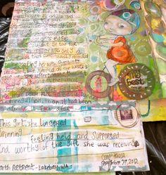 Consu Tolosa - Art Journal Pages  www.consutolosa.com