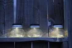 Camp Wander: Designer Solar Jars with Removable Lid for Filling!