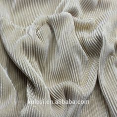 100% polyester 50D FDY 32needle garment weft knitting drape fabric bronzing high performace lustrous for drees