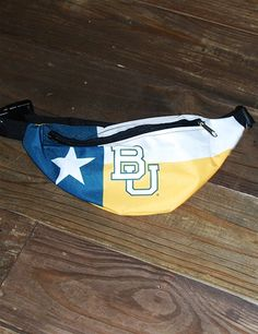 BU Texas Flag Fanny Pack // YES. #SoMuchSicEm