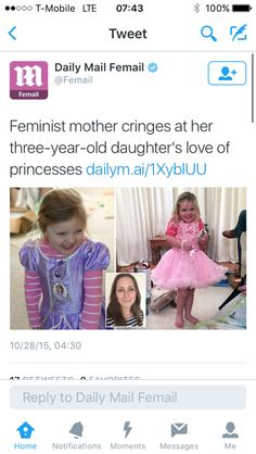 The point of feminism I'd equality, and an extention is letting people do what they want as long as no one is actually hurt. I, a feminist, freaking loved dress up as a child, now I love cosplay. This is not how you feminism. Sjw Cringe, Modern Feminism, Anti Feminist, Gender Stereotypes, All That Matters, Stupid People, Faith In Humanity, Social Issues, Social Justice