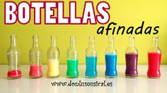 "Manualidad para el aula de #edmusical ""Botellas afinadas"" de @donlumusical // #musiced craft ""Pitched bottles"""