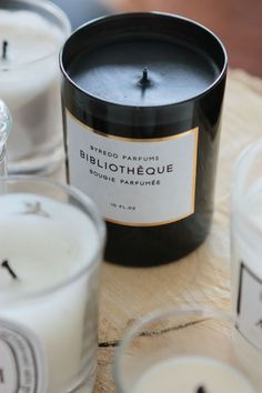 First of all, I love scented candles...but one called Library?? I NEED this!!!!
