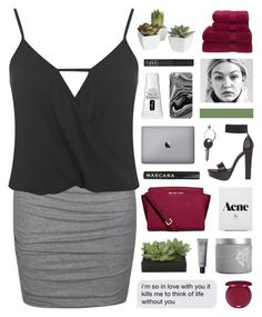 """""""Work"""" by hhuricane ❤ liked on Polyvore featuring Ally Fashion, Miss Selfridge, Windsor Smith, Pier 1 Imports, Christy, MICHAEL Michael Kors, NARS Cosmetics, Clinique, Maison Margiela and Samsung"""