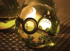 Totoro Pokéball! Studio ghibli