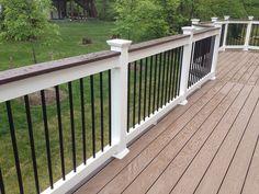decks with white railing images | Shoreline Vinyl Railing Northern, VA | Flickr - Photo Sharing!