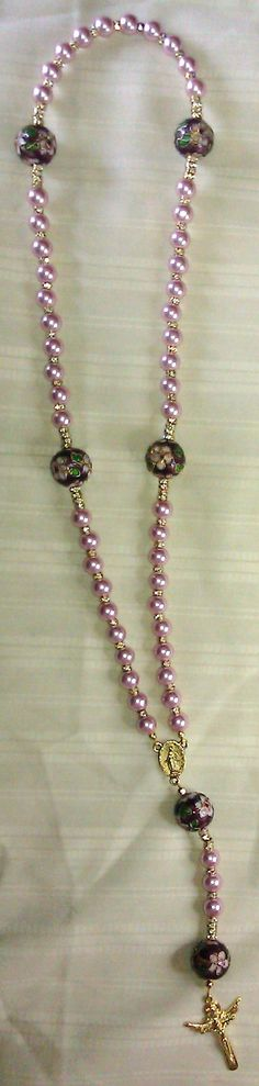 Glass and Cloissone Rosary