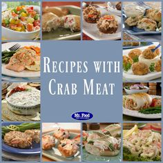 Our collection of easy crab meat recipes covers a wide range of favorites, from crab cakes and dinners to crab appetizers, salads, and more.