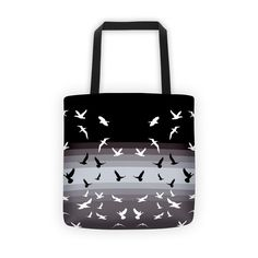 Sister Doves Black and White Tote Bag  #style #ootd #fashionjewelry #videogaming #jewelrytrends #coffeecups #decorpillows #swag #wallart #fashionclothes