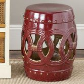Found it at Wayfair - Ceramic Double Coin Stool