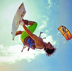 Kiteboarding is another hobby that i would like to get in to i windsurf but i like a challenge.