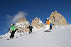 Sciare in Trentino - Dolomiti Patrimonio Naturale dell'Unesco