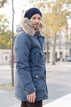 parka Arctic Woolrich homme