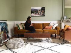 Decorating with @beldy_paris rug and pillows 💋 @lucile_salamone