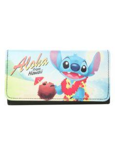Disney Lilo & Stitch Aloha From Hawaii wallet