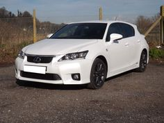 2012 Lexus Ct 200h 200h F Sport 5dr - 34,092 miles. Buy Now for £14,395 or Finance from £271/month. #car #usedcar #preloved #secondhandcar #cars #carspring #sportscar #lexus #white