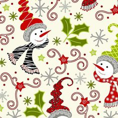 Custom For Sheila Quilt Fabric S'Noel Snowman Fabric Christmas Christmas Fabric, Christmas Crafts, Christmas Ideas, Merry Christmas, Xmas, Decoupage, Winter Quilts, Snowman Crafts, Scrapbook Albums