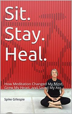 Sit. Stay. Heal.: How Meditation Changed My Mind, Grew My Heart, and Saved My Ass by Spike Gillespie http://smile.amazon.com/dp/B00S48ZT5G/ref=cm_sw_r_pi_dp_WX6Kvb12578Z8