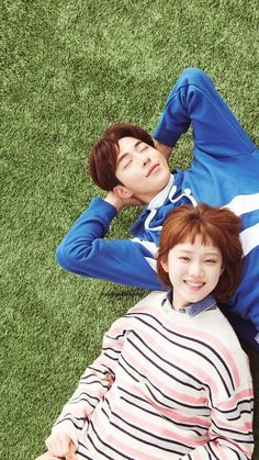 "Drama ""Weightlifting Fairy Kim Bok Joo"" - Kim Bok Joo e Jung Joon Hyung Weightlifting Fairy Kim Bok Joo Swag, Weightlifting Fairy Kim Bok Joo Wallpapers, Weightlifting Fairy Kim Bok Joo Lee Sung Kyung, Nam Joo Hyuk Smile, Nam Joo Hyuk Cute, Nam Joo Hyuk And Lee Sung Kyung, Swag Couples, Cute Couples, Weighlifting Fairy Kim Bok Joo"