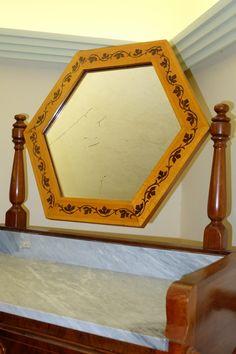 Toilette con specchio - Antiquariato Siciliano