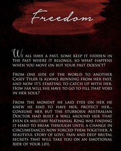 Freedom by J.Grayland available on Ebook and Paperback at Goodreads, Amazon and FREE on Kindle Unlimited Link in Bio #paperback #greatreads #KU #amazon #freedom #newaustralianauthor #actionpacked #newbookalert #epicreads #bookstagram #books #bookish #goodreads #igreads #book #bookworm #reading #booknerd #instabook #amreading #ebook #romanenovel #follow #bookporn #newauthor #bookaddict #amreading #womenauthors #writing #militarylife #jgraylandauthorblogSubscribe now to get the latest on…