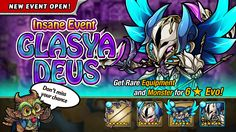 The Glasya Deus Insane Dungeon event is Live! How far can you delve into this insane dungeon? #puzzlegame