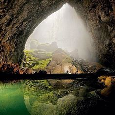 It wasn't until 2009 that professional cavers explored the world's largest cave passage, which stretches for two-and-a-half miles and reaches 300 feet wide and more than 600 feet high. It's concealed under dense tropical rainforest in Vietnam's Phong Nha-Ke Bang National Park. Photo courtesy of globaltouring on Instagram.