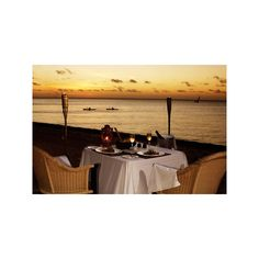 Africa Tamed Travel Blog - Romantic Beach Vacation - Mozambique,... ❤ liked on Polyvore featuring dinner, pictures and place