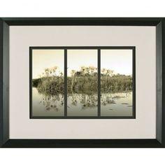 Phoenix Galleries Sunrise Grasses Framed Print - HP786