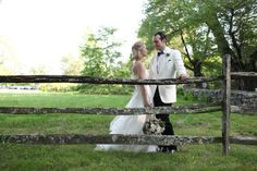 Sweet picture of the bride and groom