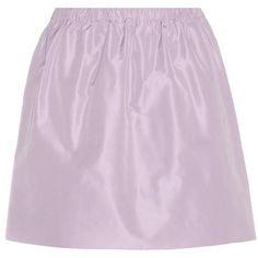 Miu Miu Miniskirt (6.986.415 IDR) ❤ liked on Polyvore featuring skirts, mini skirts, mini skirt, pink skirt, miu miu skirt, pink mini skirt and short skirts