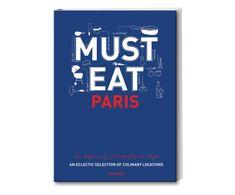 "Libro ""Must Eat Paris"""