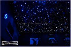 Zestaw Mgławice - galaktyczne niebo na suficie