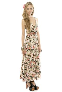 Shoptiques — How to Wear a Floral Maxi Dress - Floral Maxi Dressing Guide