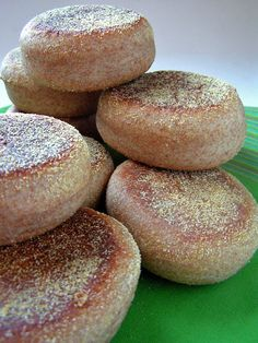 Homemade English Muffins- they're easier than you think!! {cheap too!}