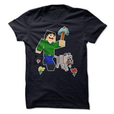 Minecraft T-shirt T Shirts, Hoodies, Sweatshirts - #short sleeve sweatshirt #vintage tee shirts. I WANT THIS => https://www.sunfrog.com/No-Category/Minecraft-T-shirt.html?id=60505