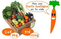 Cestas de frutas y verduras ecologicas - Moncayo