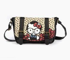Hello Kitty Messenger Bag: Hipster