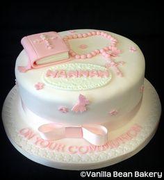 Communion & Confirmation Cakes | Vanilla Bean Bakery