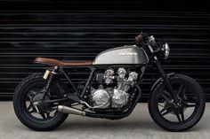 Cafe Racer Pasión — Honda CB750 Brat Style by Redeemed Cycles |...