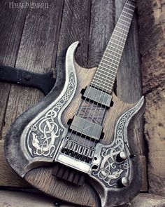 Printing Ideas Useful Product Best Acoustic Guitar, Guitar Art, Music Guitar, Cool Guitar, Custom Bass Guitar, Custom Electric Guitars, Custom Guitars, Steampunk Guitar, Ukulele