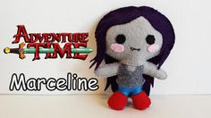 How to Make an Adventure Time Marceline plushie tutorial